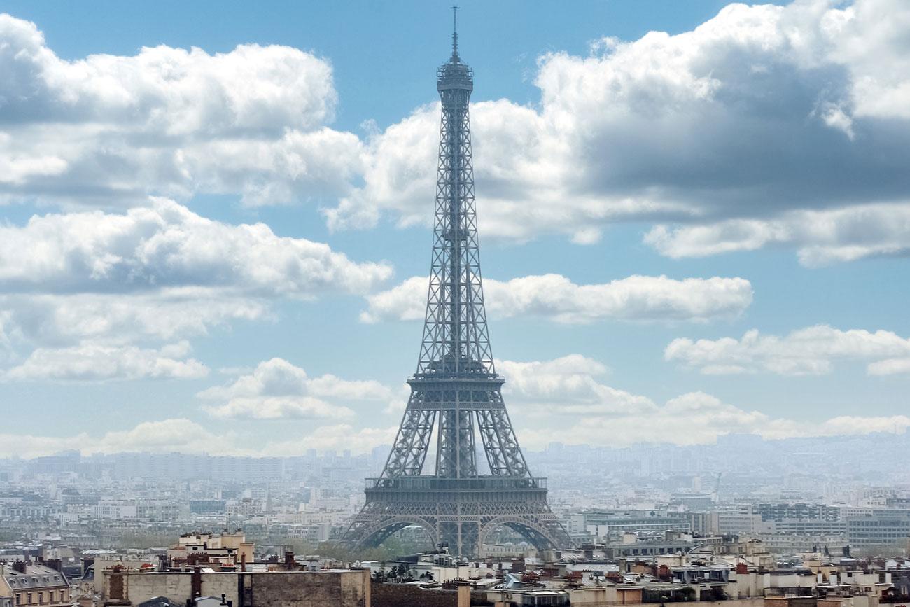 フランスのパリの風景